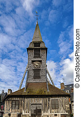 Bell tower, Honfleur - Bell tower of the Church of Saint...