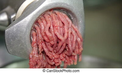 Ground Beef Preparation - Forcemeat Preparation in an...