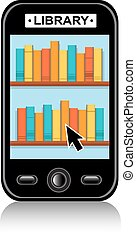 Electronic Library on your phone