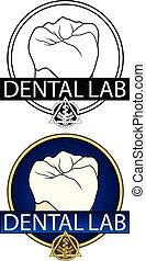 Dental Lab Design is an Illustration of a design for a...