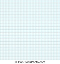 Graph seamless millimeter grid paper. Vector engineering background