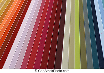 paint swatch - background of selected colours in a paint...