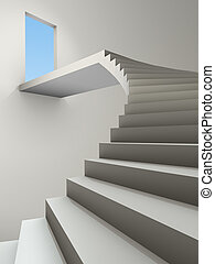 stairway - An image of a stairway to heaven with special...