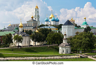 The Holy Trinity-St Sergius Lavra, Russia - The Holy...