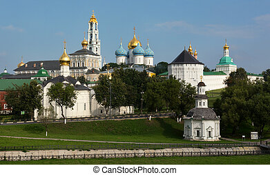 The Holy Trinity-St. Sergius Lavra, Russia. - The Holy...