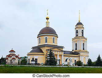 church of the Transfiguration in village Radonezh (13 km...