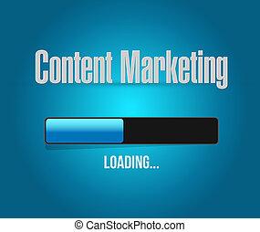 concepto, barra, mercadotecnia, señal, contenido, carga