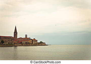 Town of Porec UNESCO world heritage site, Istria, Croatia