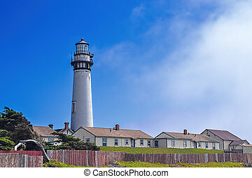 Pigeon Point Lighthouse North view - North view of Pigeon...