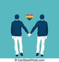 LGBT, Gemeinschaft, gleichfalls, gay