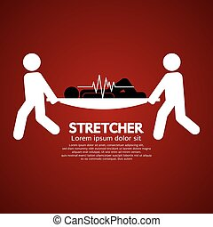 Patient On Stretcher - Medical Workers Moving Patient On...