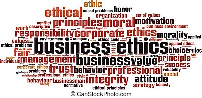 Business ethics-horizoneps - Business ethics word cloud...