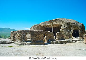Famous Uplistsikhe cave. Georgian Republic - Uplistsikhe...