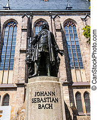 Neues Bach Denkmal HDR - High dynamic range HDR The Neues...