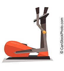 Elliptical cross trainer machine. - Elliptical cross trainer...