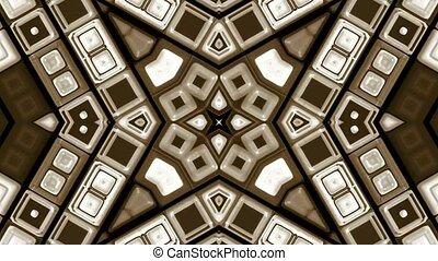 brown deform mosaics background