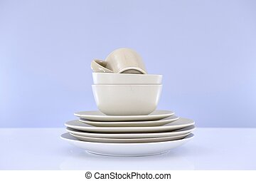 Dinner Ware - A studio photo of dinner ware