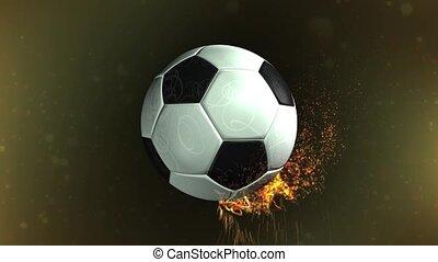 Revolving Football Loop
