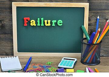 Failure word
