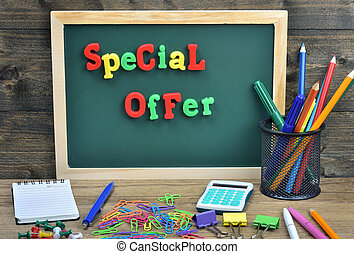 Special Offer word