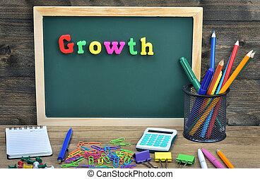 成長, 単語