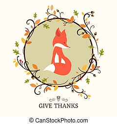 Vector Thanksgiving Design