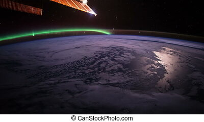 Planet Earth seen from the ISS Elements of this video...