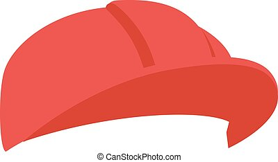 Construction helmet illustration - Construction helmet...