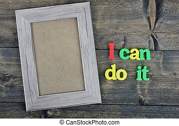 I can do it on wooden table