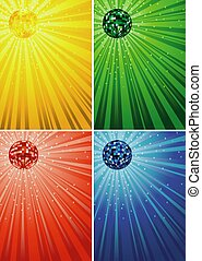 Disco Ball Backgrounds