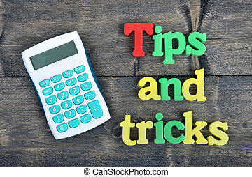Tips and tricks on wooden table