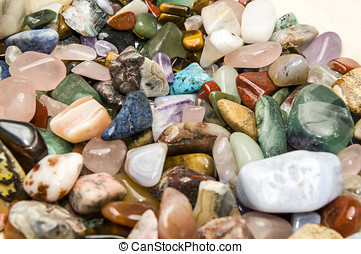 Semiprecious Gemstones - A collection of different...