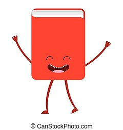 book character cute icon vector isolated graphic
