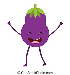 vegetable character cute icon