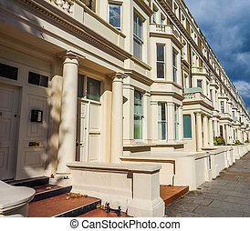 Terraced Houses in London HDR