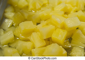 Diced Chopped Pineapple - Diced chopped sweet pinapple...