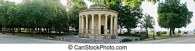 Memorial to sir Thomas Maitland, Corfu - Memorial to...