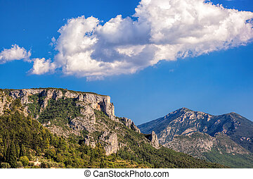 Amazing View Of The Gorges Du Verdon Canyon in Provence,...
