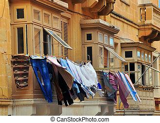 Maltese houses