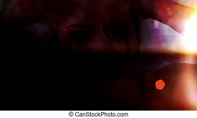 Horror no eyes evil - Mixed media Horror no eyes evil