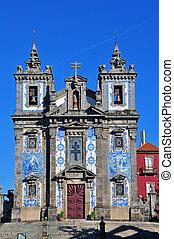 Igreja de Santo Ildefonso in Porto, Portugal