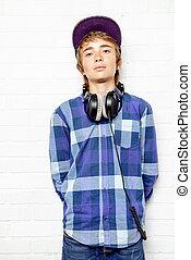 adolescent boy