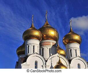 Dome of Yaroslavl cathedral