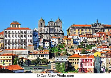 Oporto, Portugal - Oporto historical city centre, Portugal