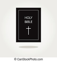 Holy Bible icon Vector illustration - Holy Bible vector icon...