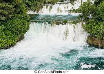 Waterfalls at Krka National Park