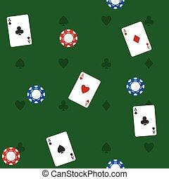 Casino Seamless Pattern