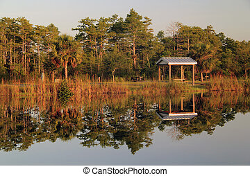 Midway Campground - Everglades, Big Cypress National...