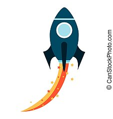 rocket launcher startup icon