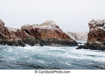 The Ballestas Islands - Pisco - Peru - The Ballestas Islands...